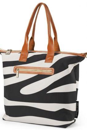 Bolso cambiador Elodie Details zebra