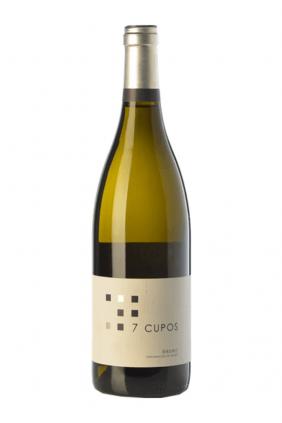 Botella de vino 7 Cupos Blanco