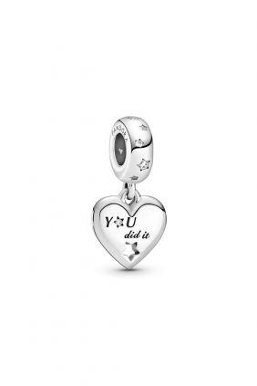 Charm Colgante Pandora Felicitaciones Corazón y Estrella