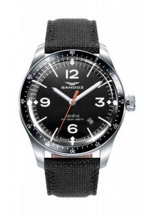 Reloj Sandoz  swiss made LIMITED EDITION hombre correa adicional