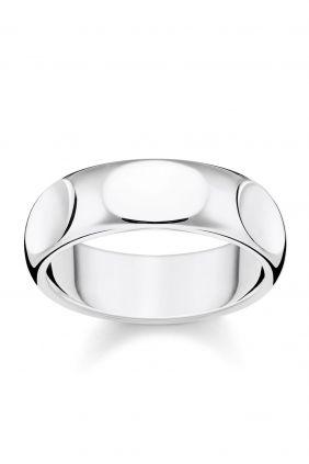 Thomas Sabo anillo minimalista plata