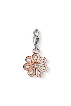 Comprar online Abalorio Charm flor chapada rose Thomas Sabo