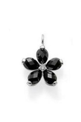 Comprar Abalorio Charm flor negra Thomas Sabo Online