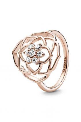 Anillo Pétalos de Rosa Pandora Rose