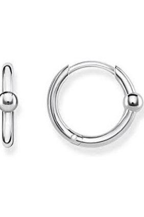 Thomas Sabo aros de plata con esfera