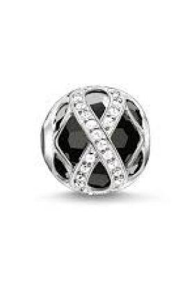 Bead infinito brillante Thomas Sabo Karma beads