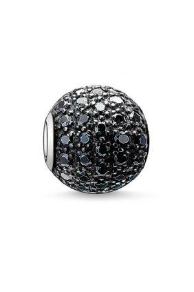 Bead pavé negro Thomas Sabo Karma beads