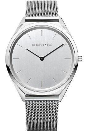Reloj Bering Ultra Slim Hombre Plateado