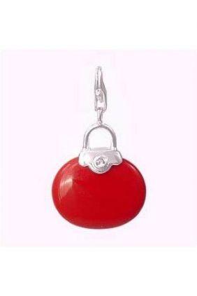 Comprar Bolso Rojo Abalorio Charm Thomas Sabo online