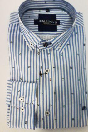 Camisa Hombre Sinigual rayas