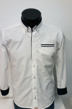 Camisa Slim Fit Yellow Skin
