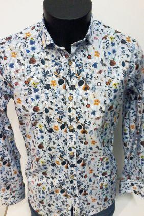 Camisa Yellow Skin Motivos florales