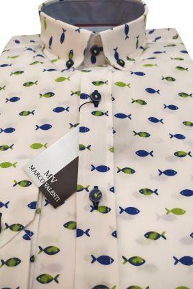 Camisa casual slim fit peces
