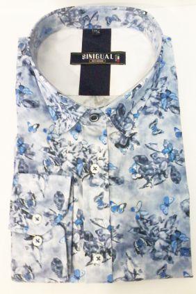 Camisa sinigual Estampado Mariposas