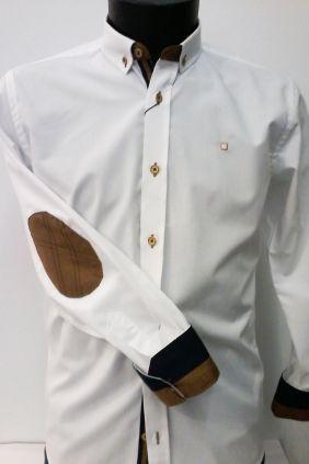 Camisa slim fit manga larga Yelow Skin
