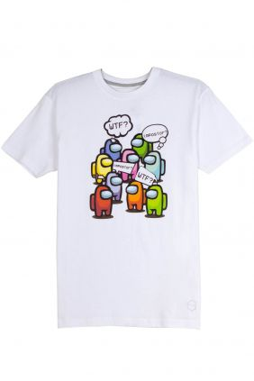 comprar Camiseta Among Us en blanco para Hombre
