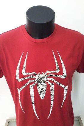 Camiseta Araña Roja hombre