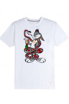 Comprar Camiseta Bugs Bunny en blanco para hombre