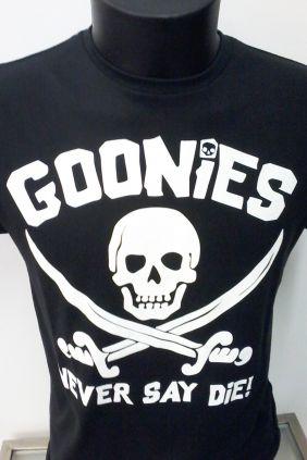 Camiseta Goonies Never Say die