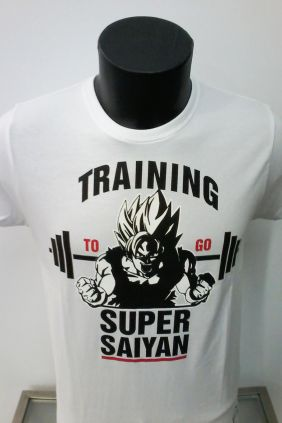 Camiseta Songoku SuperSaiyan