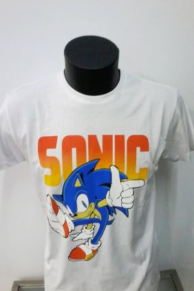 Camiseta Sonic the Hedgehog
