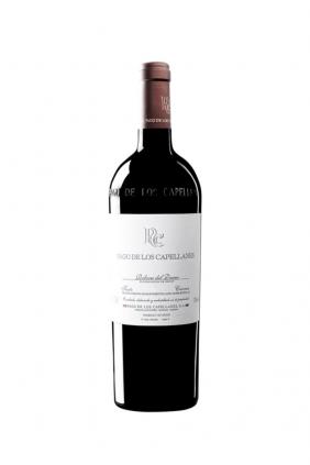 Botella de vino Pago de los Capellanes Crianza
