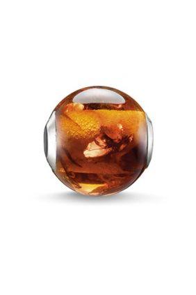 Comprar Carey marrón Karma beads Thomas Sabo K0130-700-2