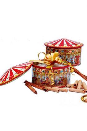 Comprar online Carrusel musical con barquillos artesanos para regalo