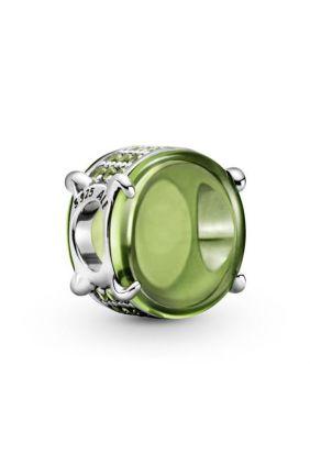 Charm Cabujón Ovalado Verde Pandora