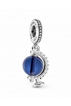 Charm Colgante Globo Terráqueo Azul Pandora