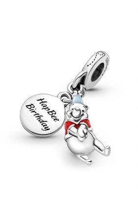 Charm Colgante Pandora Cumpleaños de Winnie the Pooh de Disney