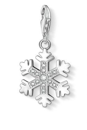 Comprar online Charm Copo de Nieve con zirconitas Thomas Sabo 0608