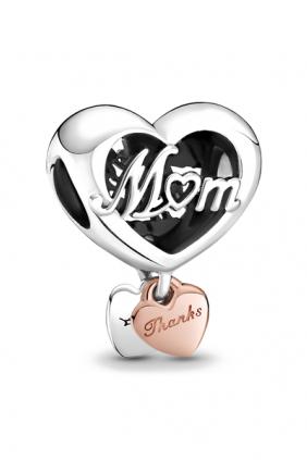 Charm Corazón Gracias Mamá Pandora