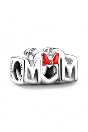 Charm Mamá y Lazo de Minnie Mouse de Disney Pandora
