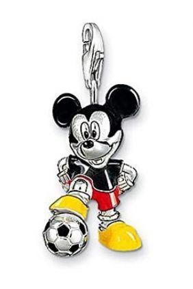 Charm Mickey Mouse pelota de Fútbol Thomas Sabo