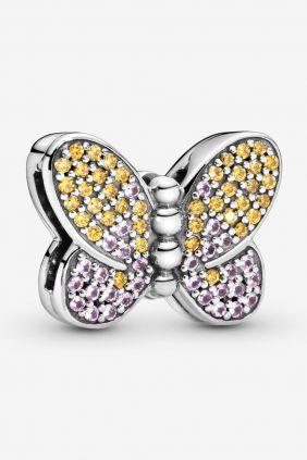 Pandora Charm Reflexions en plata de ley Mariposa