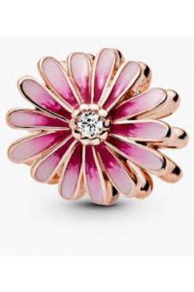 Charm en Pandora Rose Margarita Rosa