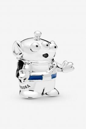 Pandora Charm en plata de ley Alien, Toy Story