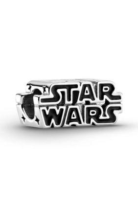 Charm en plata de ley Logo Star Wars™ en 3D