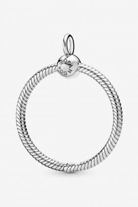 Pandora Colgante O mediano en plata de ley (diametro 3cm)