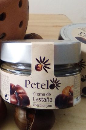 Comprar Crema de Castaña Petelo 125g