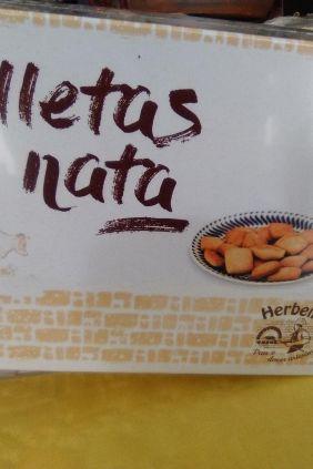 Comprar Galletas de Nata Artesanas Herbella online