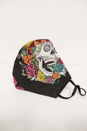 Comprar Online Mascarilla adulto aulto Skull 25 lavados
