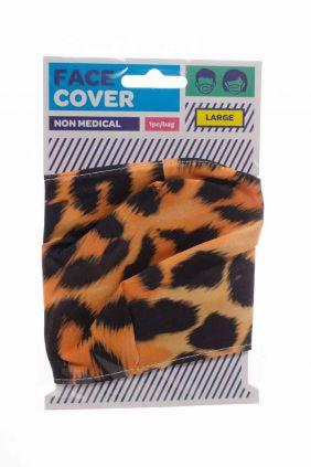 Comprar Mascarilla reutilizable Estampado leopardo
