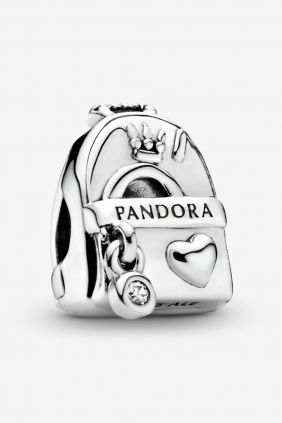 Pandora Charm plata Mochila