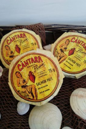 Comprar Paté de Salmón Cántara, lata de 75 g