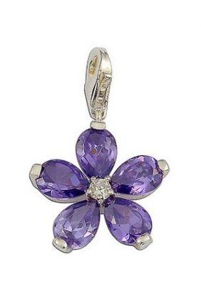 Comprar online abalorio Charm flor lila Thomas Sabo