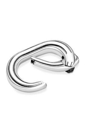 Conector de anillos Pandora ME en Plata de Primera Ley