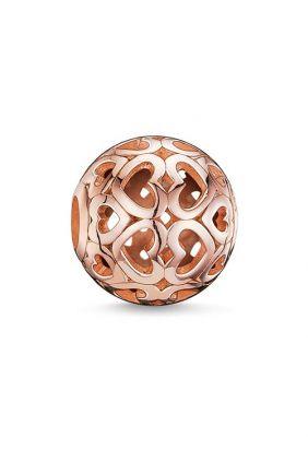Corazones rosado Thomas Sabo Karma beads K0018-415-12 barato