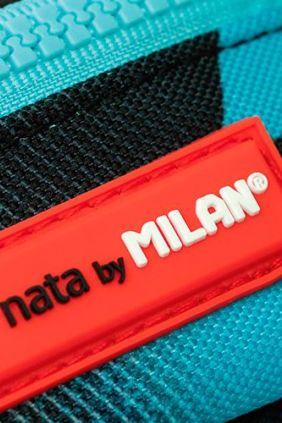 Mochilas Escolares Fusión de Milan Azul y Negra